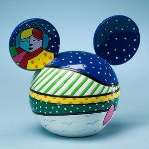 Mickey Head Box - Winter Fun