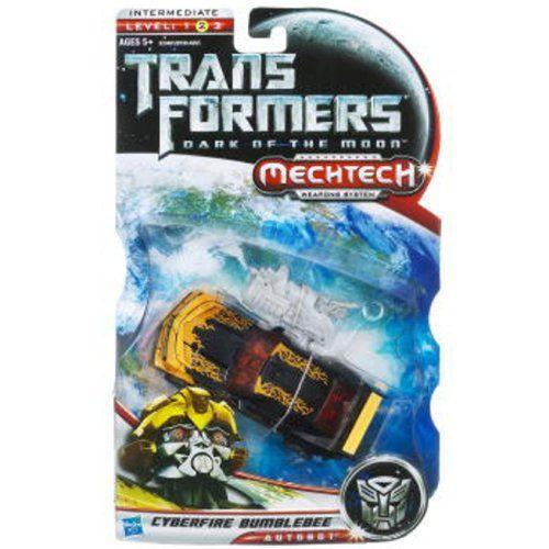 Transformers: Dark of the Moon - MechTech Deluxe - Cyberfire Bumblebee フィギュア ダイキャスト 人