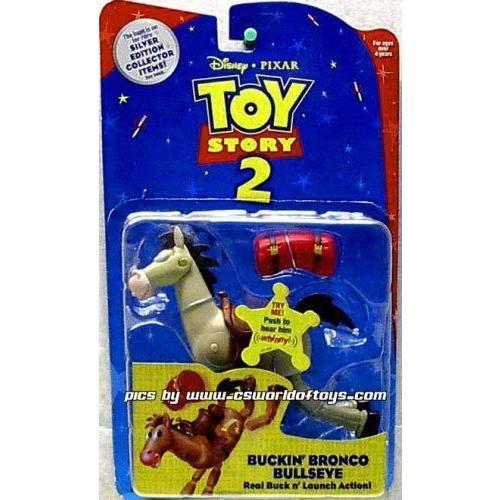 Toy Story 2 トイストーリー2 Bucking Bronco Bullseye Press button to hear him Whinny フィギュア ダ