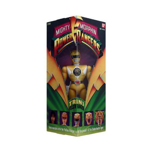 Original Mighty Morphin Power Rangers TRINI 黄 RANGER 8