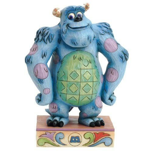 Jim Shore Disney Traditions Sulley Sullivan of Monster Figurine, 6.25-Inch