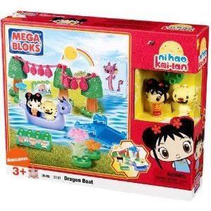 Mega Bloks (メガブロック) Dragon Boat ブロック おもちゃ