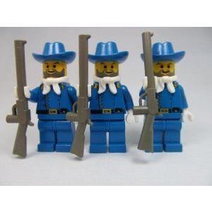LEGO (レゴ) Western Cavalry Lieutenant Lot (X3) Minifigures ブロック おもちゃ