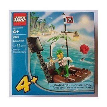 LEGO (レゴ) 4+ Juniors Pirates Catapult Raft (7070) ブロック おもちゃ