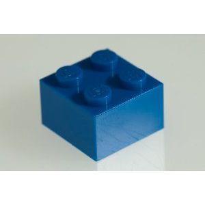 200x LEGO (レゴ) R Bright 青 (青) 2x2 Bricks ブロック おもちゃ