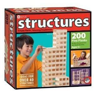 Structures 200 Plank Set ブロック おもちゃ