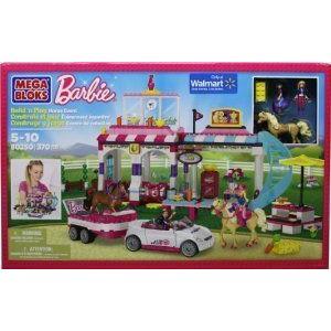 Mega Bloks (メガブロック) Barbie (バービー) Build 'N Play Horse Event ブロック おもちゃ