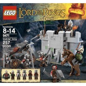 LEGO (レゴ) The Lord of the Rings (ロードオブザリング) Hobbit Urak-Hai Army (9471) ブロック おもち