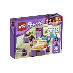 LEGO (レゴ) Friends Emmas Design Studio 3936 ブロック おもちゃ