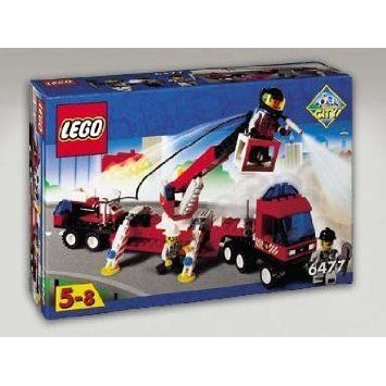 Lego (レゴ) Fire Fighters' Lift Truck 6477 ブロック おもちゃ
