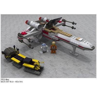 LEGO (レゴ) Star Wars (スターウォーズ) X-Wing Fighter (7140) ブロック おもちゃ
