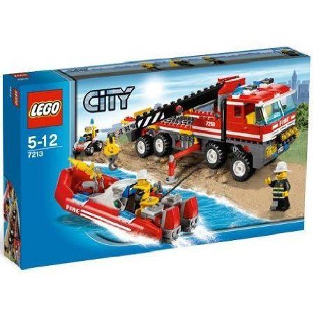 Lego (レゴ) City: Off-Road Fire Truck & Fireboat #7213 ブロック おもちゃ