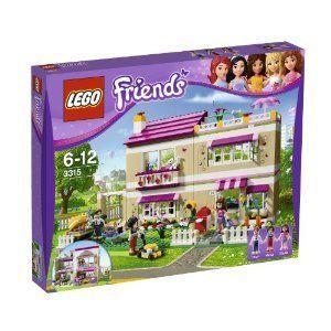 LEGO (レゴ) R Friends Girls Olivia's Play House w/ Three Mini Doll フィギュア 人形 | 3315 ブロック