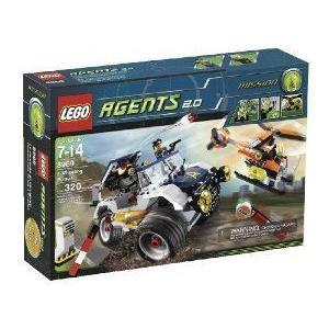 LEGO (レゴ) Agents 4-Wheeling Pursuit (8969) ブロック おもちゃ