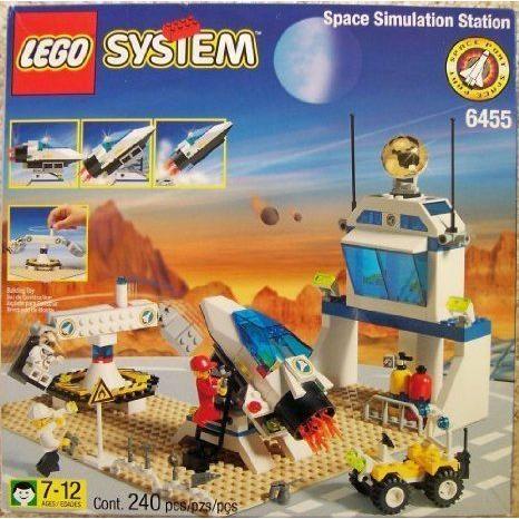 LEGO (レゴ) Space Port 6455 Space Simulation Station ブロック おもちゃ