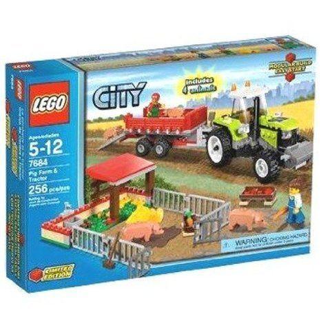 LEGO (レゴ) City Set #7684 Pig Farm & Tractor ブロック おもちゃ