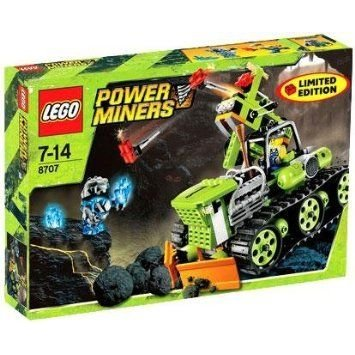 Lego (レゴ) Power Miners Exclusive 限定品 Set #8707 Boulder Blaster ブロック おもちゃ