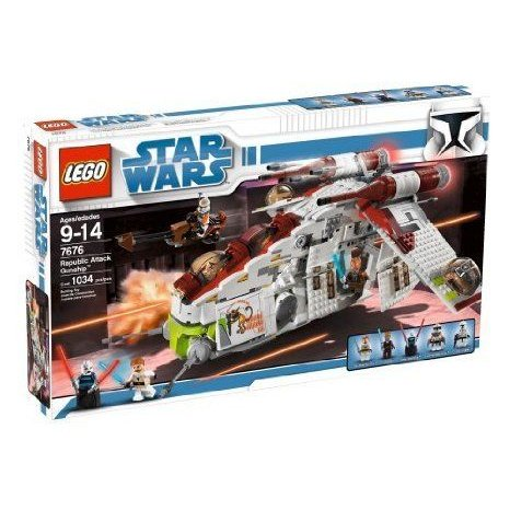 LEGO (レゴ) Star Wars (スターウォーズ) Republic Gunship (7676) ブロック おもちゃ