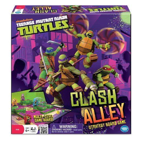 Teenage Mutant Ninja Turtles Clash Alley Board Game