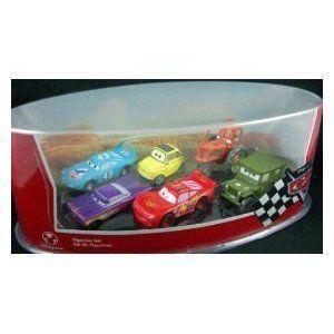 Disney (ディズニー) Pixar (ピクサー) Cars Figurine Set with Lightning McQueen ミニカー ダイキャス