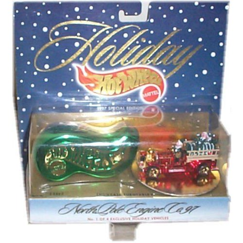 Hot Wheels ホットウィール Holiday - 1997 Special Edition, #1 of 4 - North Pole Engine Co. 97ミニカ
