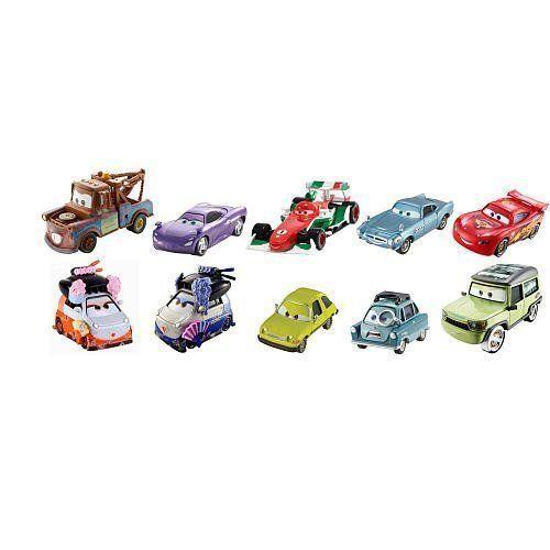 ディズニー / ピクサー CARS 2 Movie Exclusive 155 Die Cast Car 10Pack Tokyo Spy MixUp Includes Okun