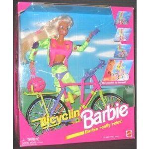 Bicyclin' Barbie(バービー) ドール 人形 フィギュア