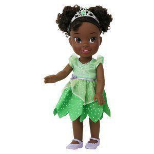 Disney (ディズニー)Toddler Tiana - 緑 Dress ドール 人形 フィギュア