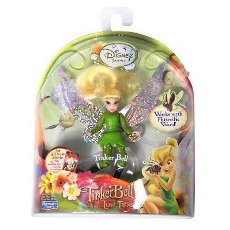 Disney (ディズニー)Fairies Lost Tink Flitterific Fairy 緑 ドール 人形 フィギュア