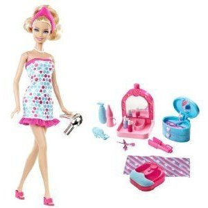 Barbie(バービー) Spa Day and Doll Gift Set ドール 人形 フィギュア