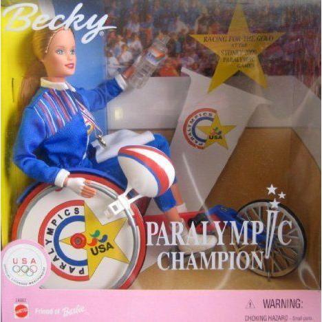 Barbie(バービー) Becky Paralympic Champion ドール 人形 フィギュア
