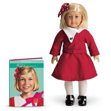 American Girl (アメリカンガール) 25th Anniversary Kit Mini Doll and Book ドール 人形 フィギュア