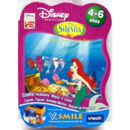 Disney (ディズニー) Princesas - La Sirenita Spanish Vsmile Cartridge おもちゃ