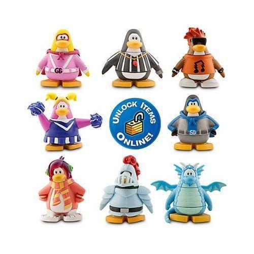 ディズニー Club Penguin 8 Pack Assortment - 2'' Mix 'N Match Figures
