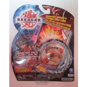 Bakugan (バクガン) Battle Brawlers Subterra Tan Dragonoid Booster Pack Series 1