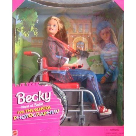 Barbie(バービー) Becky I'm the School Photographer ドール 人形 フィギュア