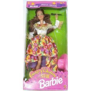 Barbie(バービー) 1994 Country Western Star Walmart Special Brunette Hair ドール 人形 フィギュア