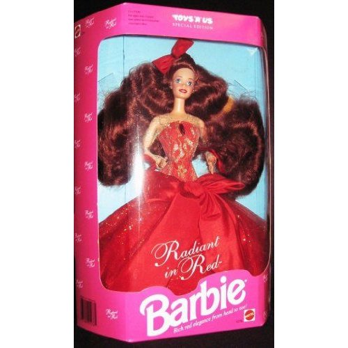 Barbie バービー Collector Doll Toys R Us Special Edition Radiant in 赤 人形 ドール