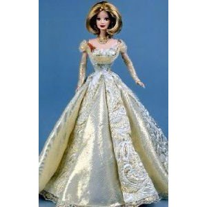 ゴールドen Anniversary Barbie(バービー) Doll Exclusive TRU ドール 人形 フィギュア