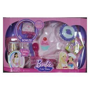 Barbie バービー I Can Be Cake Baker Set, Fits Size 4-6x 人形 ドール