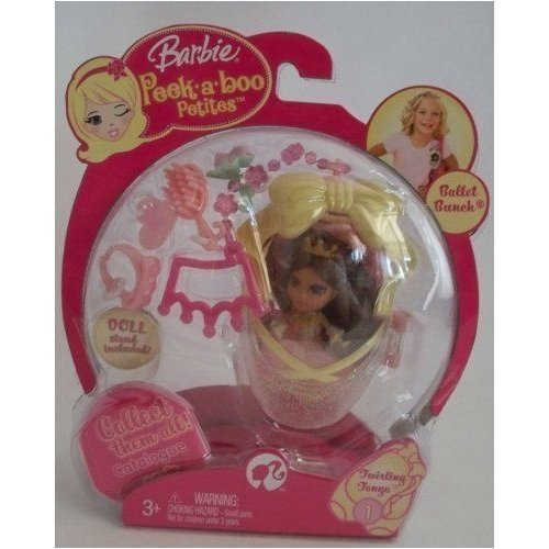 Barbie バービー Peekaboo Petites Ballet Bunch Collection - #1 Twirling Tanya 人形 ドール