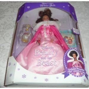 Disney (ディズニー)Classic WINTER BELLE Beauty & the Beast doll ドール 人形 フィギュア