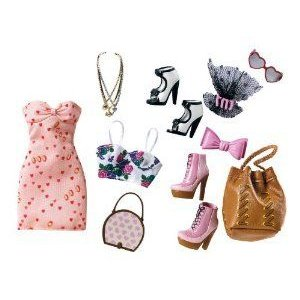 Barbie Stardoll by Barbie - Pretty in ピンク Fashion Pack