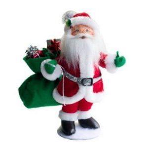 2013 Annalee Dolls *銀 Sparkle Santa* 9