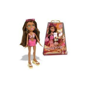 Bratz ブラッツ Spring Break Yasmin Beach Brats Fashion Doll 人形 ドール