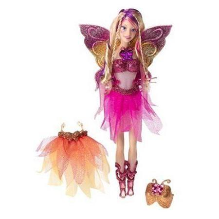 Crystal Fairytopia Barbie(バービー) Doll ドール 人形 フィギュア