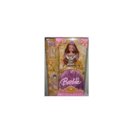 Barbie(バービー) PRINCESS 紫の DRESS ドール 人形 フィギュア