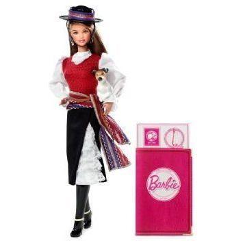 Chile Barbie(バービー) Dolls Of The World ドール 人形 フィギュア
