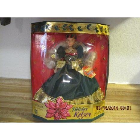 Holiday Kelsey Barbie(バービー) Doll ドール 人形 フィギュア