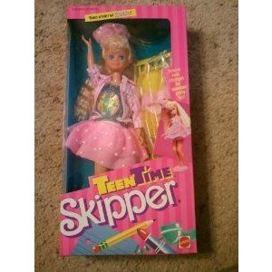 Teen Time Skipper Sister of Barbie(バービー) 1988 ドール 人形 フィギュア
